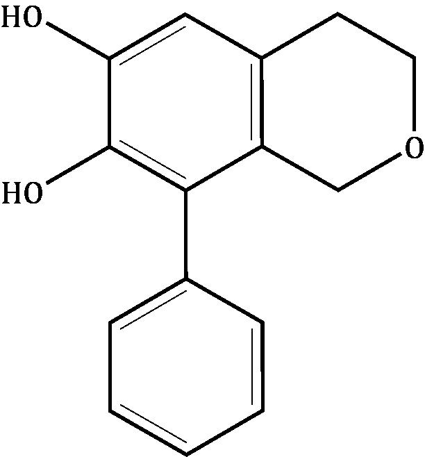 1-Phenyl-6,7-dihydroxyisochroman Compound Image