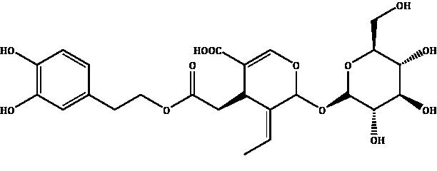 Demethyloleuropein Compound Image