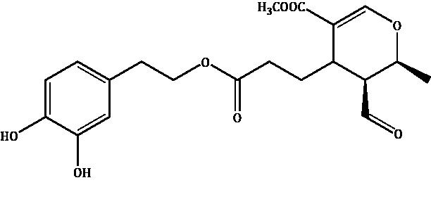 Hydroxytyrosil-elenolate Compound Image
