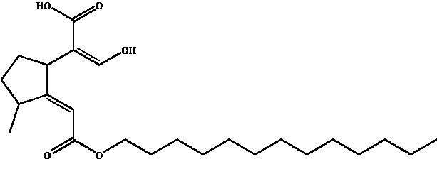 Deoxyloganic acid lauryl ester Compound Image