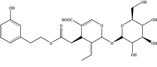 Demethylligstroside Compound Image