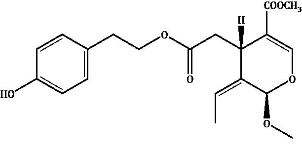 Ligstroside aglycone methyl acetal Compound Image