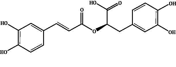 Rosmarinic acid Compound Image