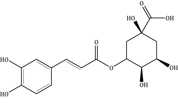 Chlorogenic Acid Compound Image