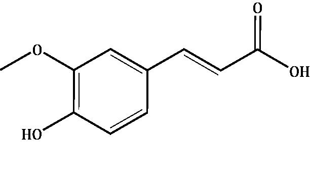 Ferulic acid Compound Image