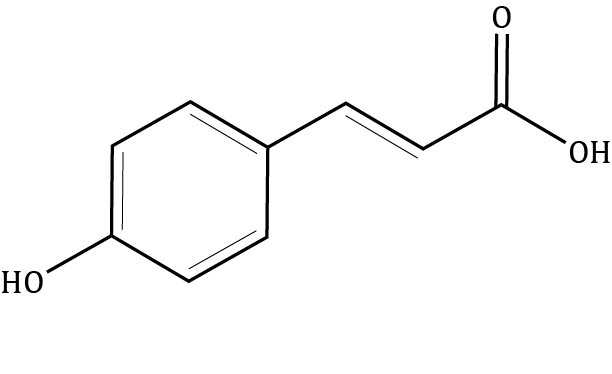 p-Coumaric acid Compound Image
