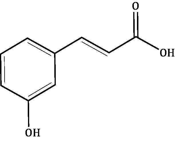 m-Coumaric acid Compound Image