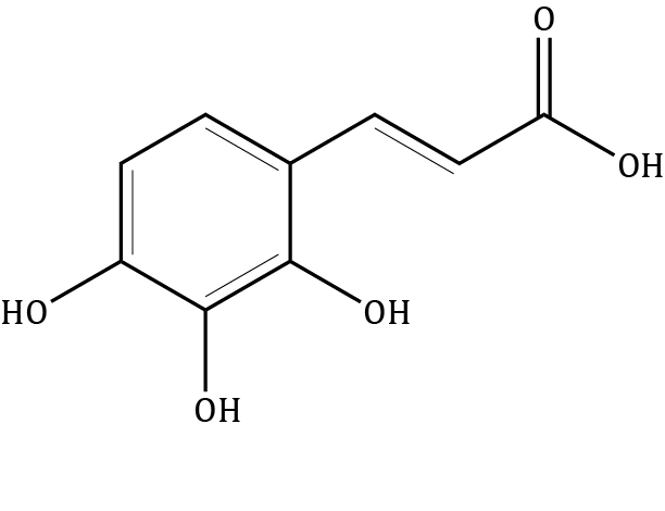 Hydroxycaffeic acid Compound Image