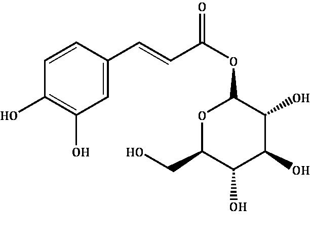 Caffeoylglucose Compound Image