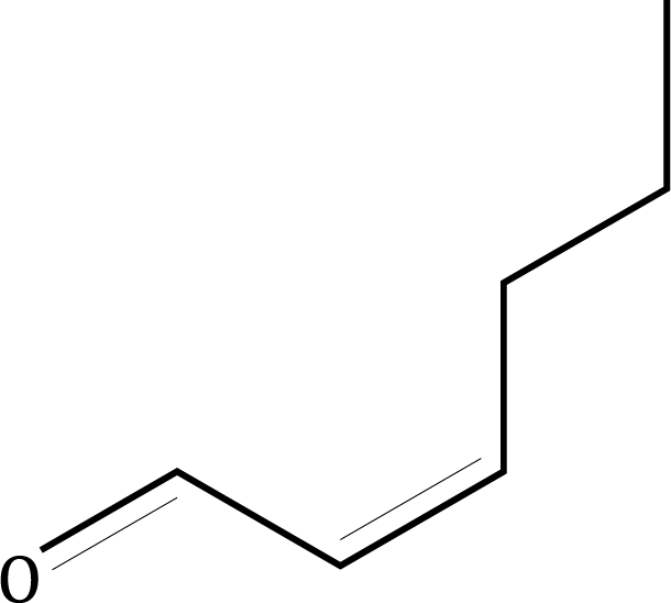 cis-2-Hexenal Compound Image