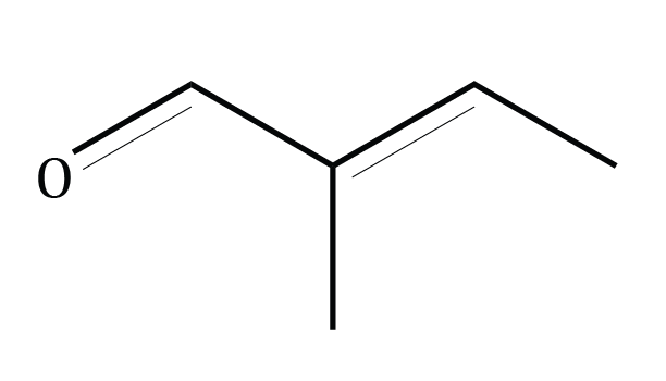 Tiglic Aldehyde Compound Image