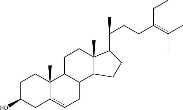 Δ-5,24-Stigmastadienol Compound Image