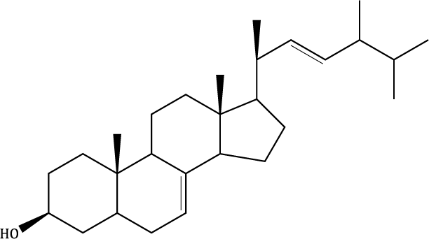 Δ-7,22-Ergostadienol Compound Image
