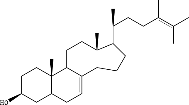 Δ-7,24-Ergostadienol Compound Image