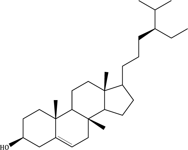 β-sitosterol Compound Image
